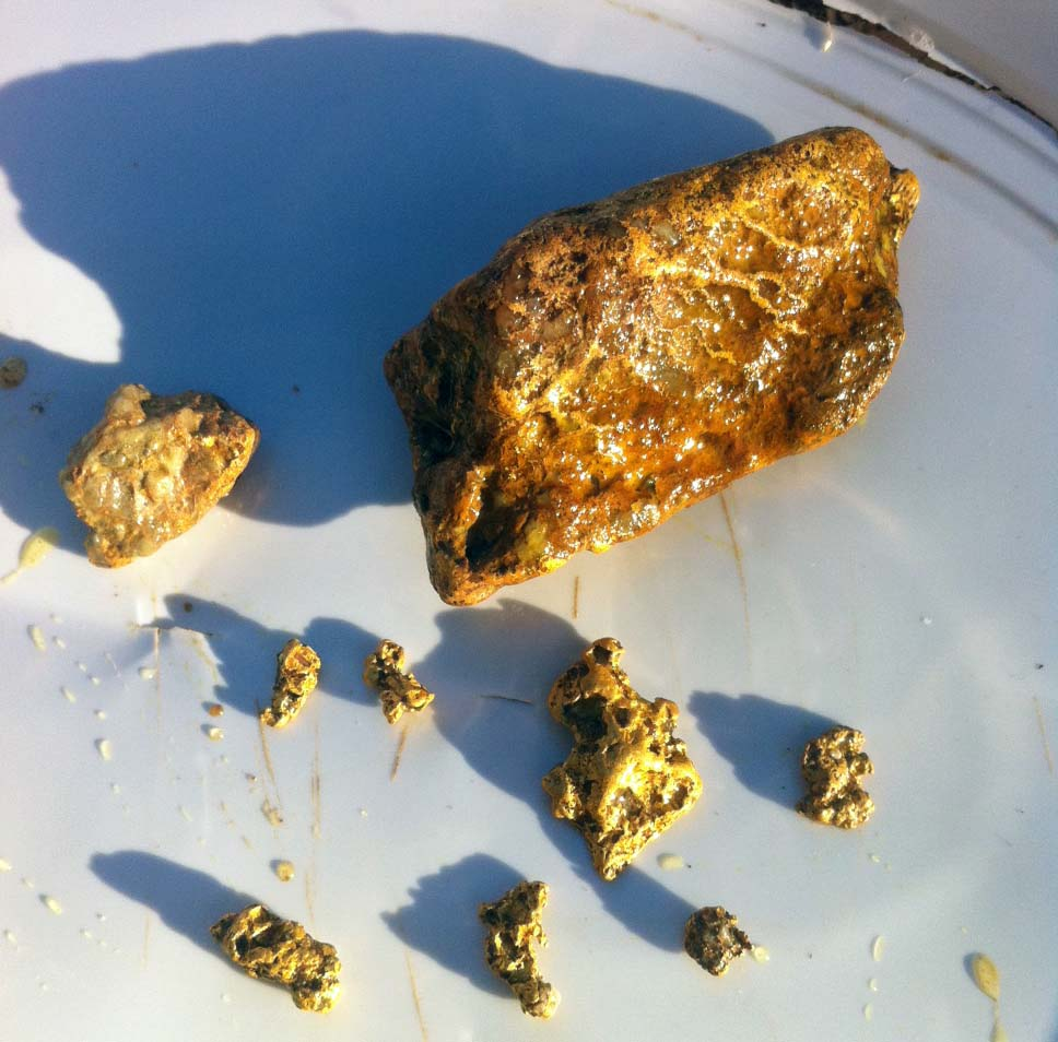 Gold Nugget Finds from a WA Gold Prospecting Trip