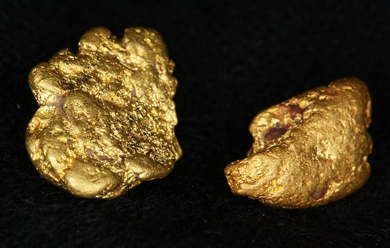 2.5 gram gold nugget found by Cory from BrisbaneGold