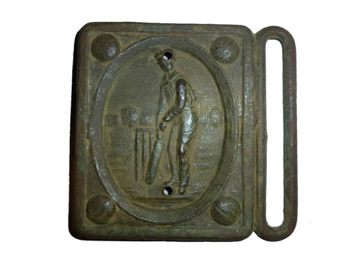 Cricket Belt Buckle Found with Minelab E-TRAC