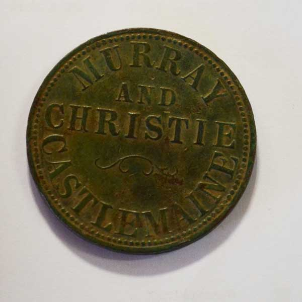 Murray & Christie Token