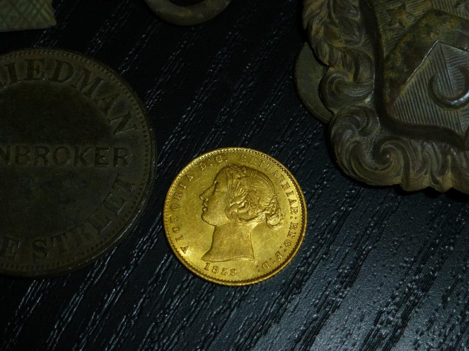 1858 Half Sovereign
