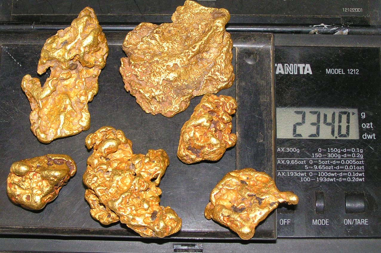 Gold Finds