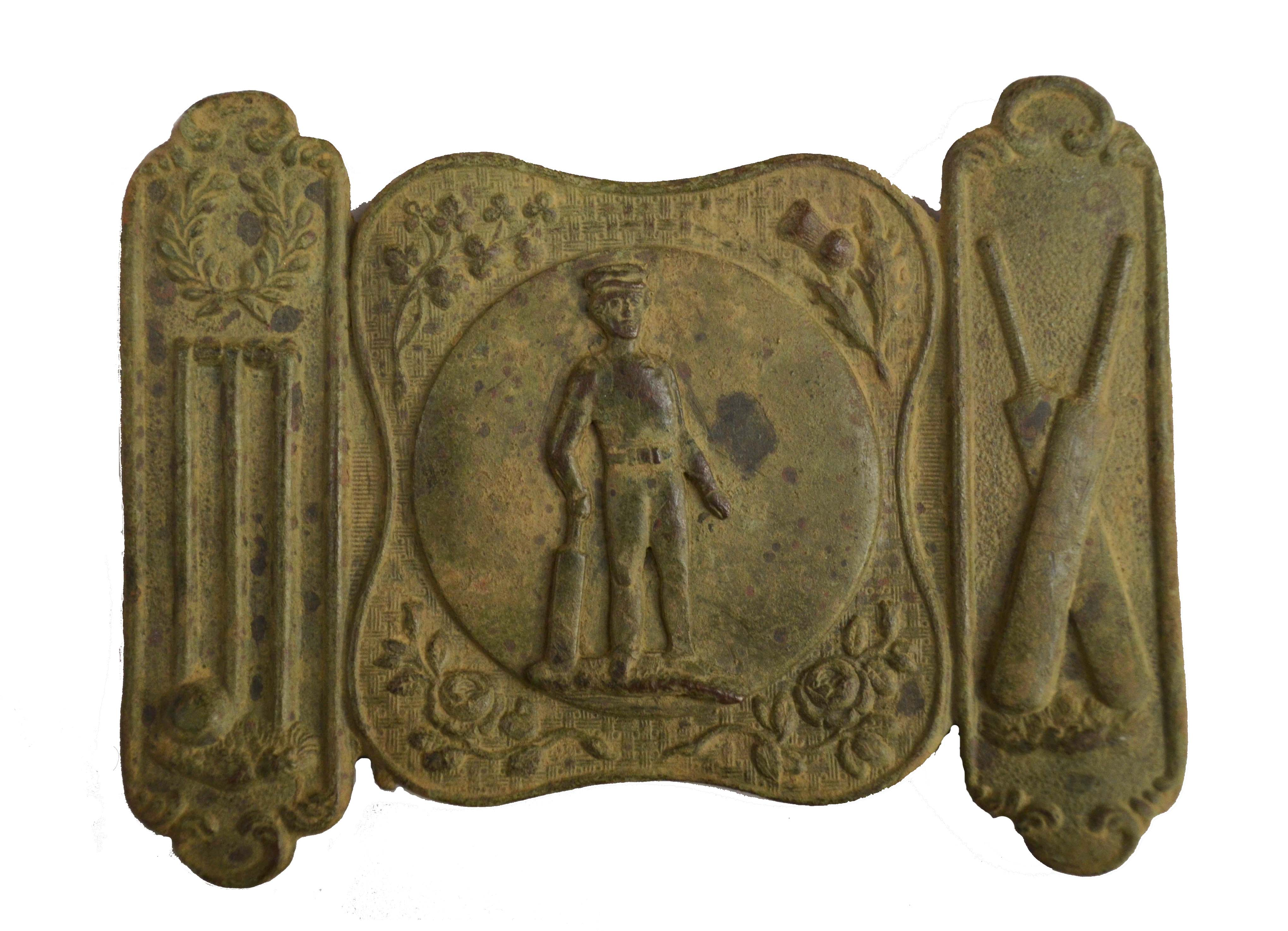Intact Cricket Belt Buckle found with Minelab E-TRAC