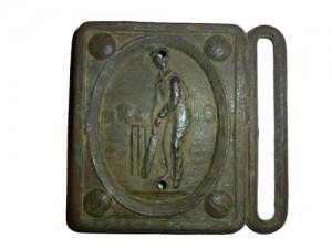 Cricket Belt Buckle Found with Minelab E-TRAC