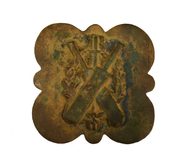 Cricket Belt Buckle found with the Minelab CTX Metal Detector