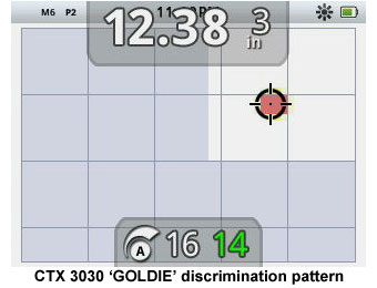 CTX 3030 Goldie Discrimination Pattern