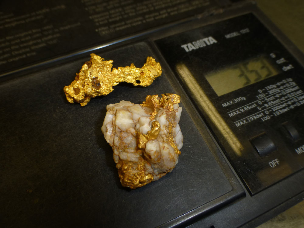 Eureka Gold finds Gold